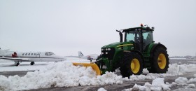 Snow ploughing